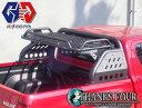 トヨタ ハイラックス レボ 125型TOYOTA HILUX REVO GUN125ロールバー / スポーツバーブラックテクスチャードラック付…