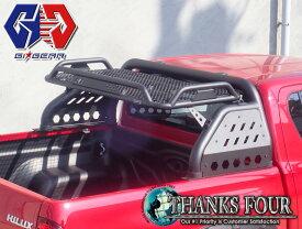 トヨタ ハイラックス レボ 125型TOYOTA HILUX REVO GUN125ロールバー / スポーツバーブラックテクスチャードラック付き / 組み立て式P/# WBPW03343502【 GIG / ジーアイギア 】