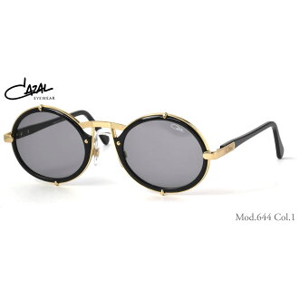 (卡萨尔) 太阳镜传说 644 001 53 大小圆圆圆的眼镜传奇 CAZAL 传说男人女人