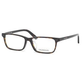 カルバンクライン Calvin Klein メガネ CK18526A 235 54サイズ ck べっ甲 スクエア アジアンフィット 近視 乱視 遠視 老眼 カルバンクラインCalvinKlein メンズ レディース
