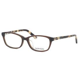 カルバンクライン Calvin Klein メガネ CK18528A 201 54サイズ ck アジアンフィット べっ甲 スクエア カルバンクラインCalvinKlein メンズ レディース