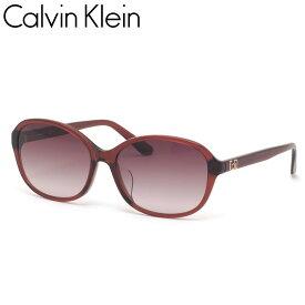 カルバンクライン サングラス CK20550SA 605 58 Calvin Klein アジアフィット グラデーションレンズ ワインレッド ボルドー メンズ レディース