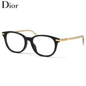 Dior メガネ Dioressence1F 7C5 50 ディオール クリスチャンディオール CD 黒縁 くろぶち フルフィット レディース