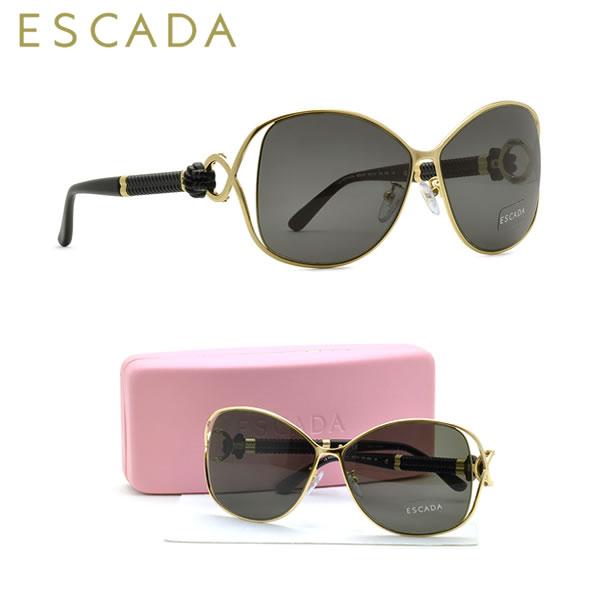 【訳あり】【ランクA】【未使用品】ESCADA エスカーダ サングラス SES781M 0300 60サイズ ESCADA メンズ レディース