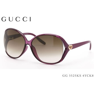 GG3525KS4YCK8 62 大小古奇 (Gucci) 太陽鏡亞洲擬合模型女士