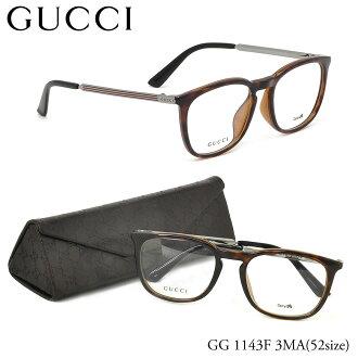 (GUCCI) 眼镜 GG1143F3MA 52 大小 ITA 眼镜免费亚洲适合的惠灵顿古奇 ITA 镜片镜头自由女人的男人