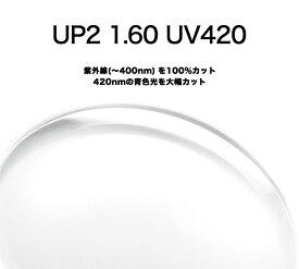 SEIKO UP2 1.60S UV420 度付き レンズ