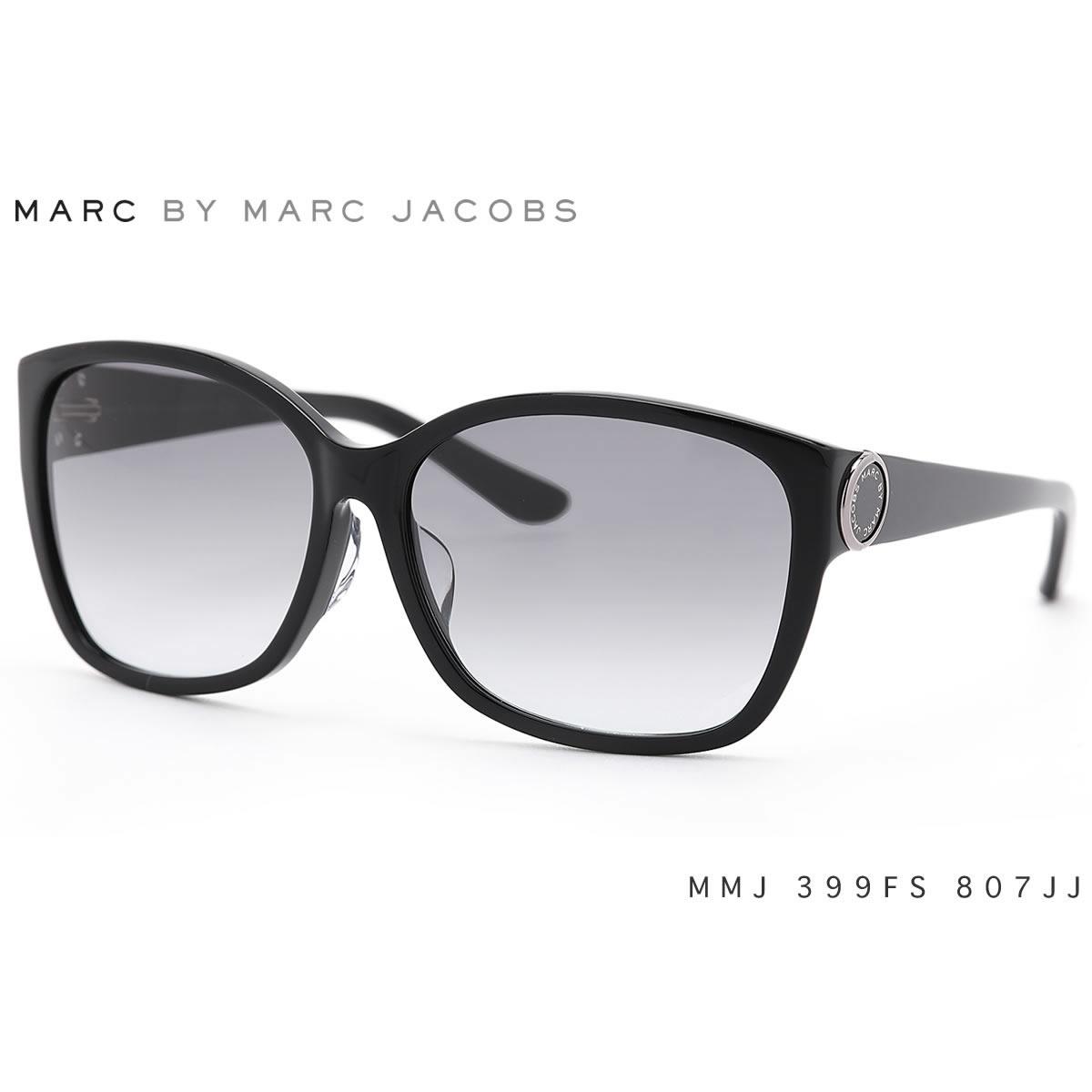 マークバイマークジェイコブス サングラス MMJ399FS 807/JJ 60サイズ MARC BY MARCJACOBS アジアンフィット レディース