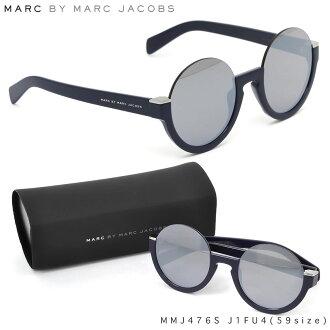标记经由标记雅各布太阳眼镜MMJ476S J1FU4 59尺寸MARC BY MARCJACOBS圆眼镜局女士