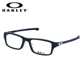 オークリー OAKLEY メガネ OX8045-0555 CHAMFER ASIA FIT Universe Blue シャンファー アジアフィット スクエア OAKLEY 伊達メガネレンズ無料 メンズ レディース