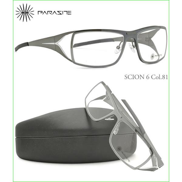 【訳あり】【ランクC】【未使用品】PARASITE パラサイト メガネ SCION6 81 56サイズ パラサイト PARASITE メンズ レディース