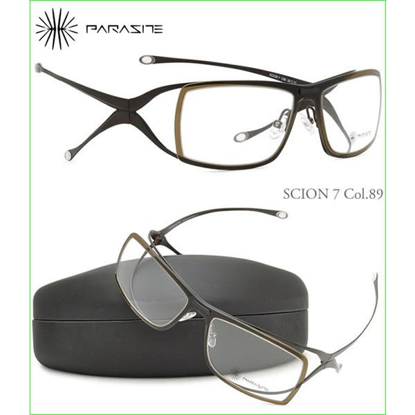 【訳あり】【ランクC】【未使用品】PARASITE パラサイト メガネ SCION7 89 56サイズ パラサイト PARASITE メンズ レディース