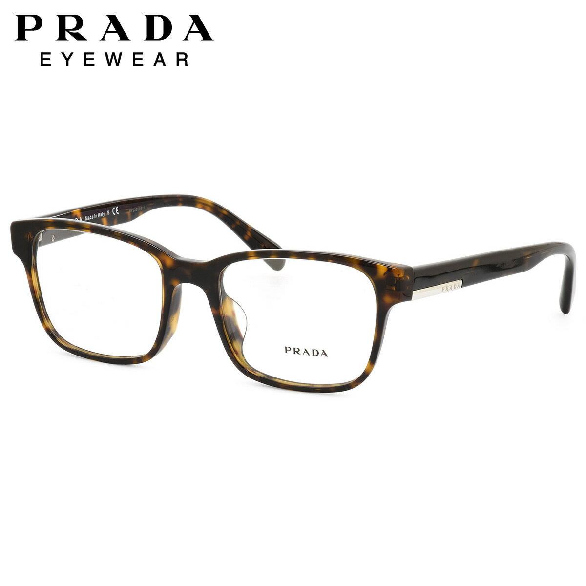 プラダ PRADA メガネPR06UVF 2AU1O1 54サイズスクエア フルフィット プラダ PRADA メンズ レディース