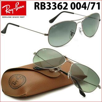 f03e1fa8c3 Ray-Ban Sunglasses RB3362 004 71 59size COCKPIT GENUINE NEW rayban ray ban