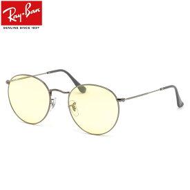 レイバン Ray-Ban サングラス RB3447 004/T4 50サイズ 53サイズ ラウンドメタル ROUND METAL EVOLVE エボルブ 調光レンズ フォトクロミック ラウンド 丸メガネ おしゃれ Made in Italy イタリー メンズ レディース