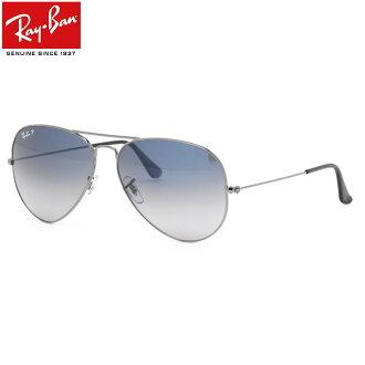 (雷朋) 飞行员经典金属太阳镜 RB3025 004 / 78 62 大小泪珠极化镜头射线禁令雷飞行员经典金属男人女人