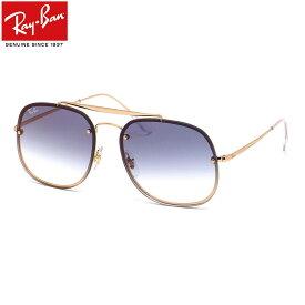 Ray-Ban レイバン サングラスRB3583N 001/X0 58サイズHIGHSTREET BLAZE THE GENERAL ハイストリートブレイズ ザ ジェネラル ダブルブリッジ トレンド ミラー フラットレンズレイバン RayBan メンズ レディース