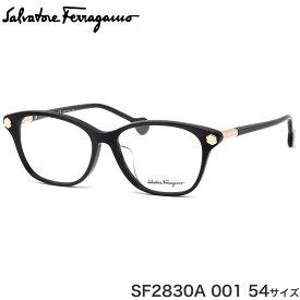 サルヴァトーレ フェラガモ Salvatore Ferragamo メガネ SF2830A 001 54サイズ フラワーヒール MADE IN ITALY サルヴァトーレフェラガモ レディース