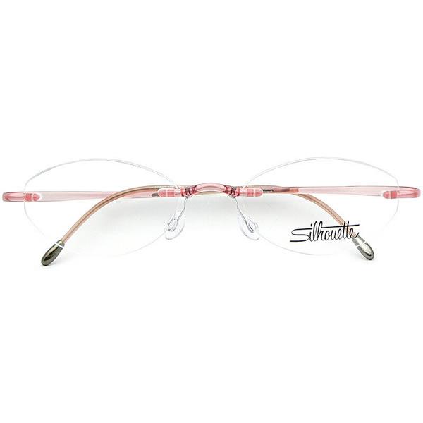 シルエット メガネ ミニマルX 1960 6060 50サイズ Silhouette minimal X UVカット仕様伊達メガネレンズ無料 メンズ レディース