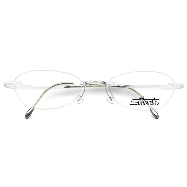 シルエット メガネ ミニマルX 1960 6058 50サイズ Silhouette minimal X UVカット仕様伊達メガネレンズ無料 メンズ レディース