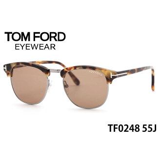 点八倍 ! (TOM FORD) 太阳镜 TF0248 55 51 J 大小 TOMFORD 亨利亨利 FT0248 男人女人