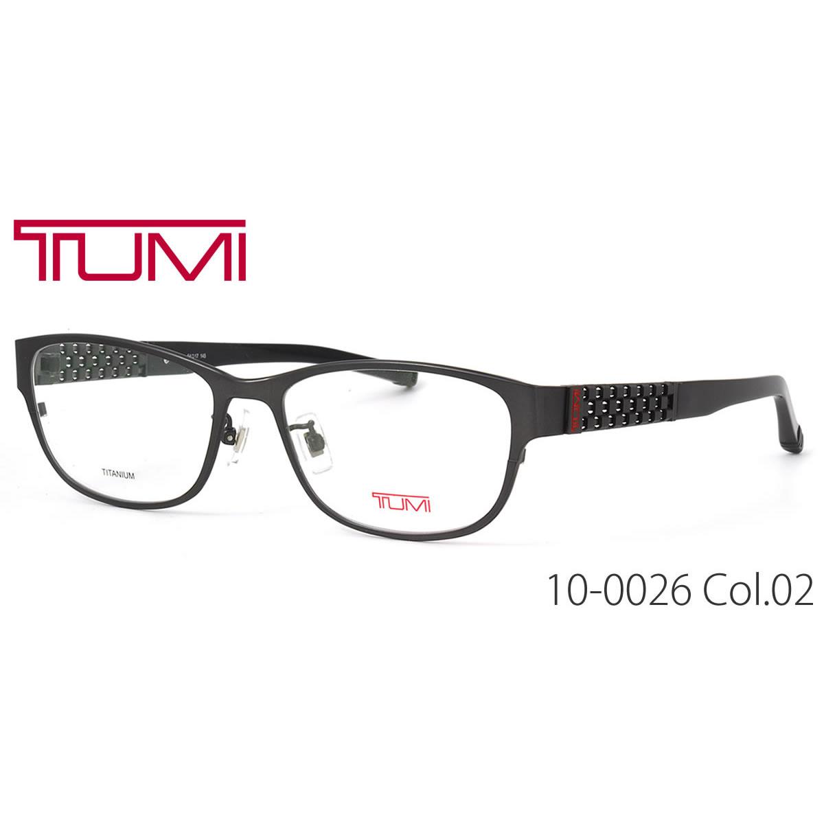 ポイント最大42倍!!お得なクーポンも !! トゥミ メガネ 10-0026 02 54サイズ TUMI ビジネスバッグで人気のブランド メンズ