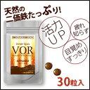 鉄分 VOR(ヴォア) ナチュラルTETSUミネラル 30粒入り【あす楽対応】