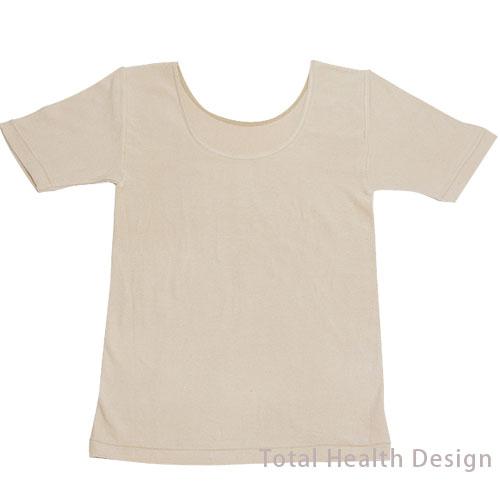きょらむん天然泥パック 婦人半袖シャツ