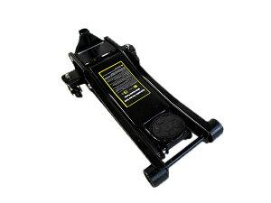 ローダウンジャッキ 3t/3トン 75mm 低床 ガレージジャッキ フロアジャッキ デュアルポンプ式 ブラック/黒 【低床ジャッキ フロアジャッキ 油圧ジャッキ ローダウン車対応 ジャッキアップ タイ