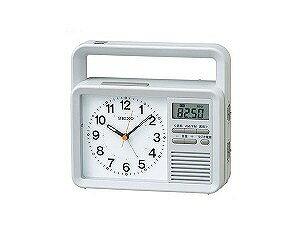 【SEIKO CLOCK】セイコー SEIKO 目覚まし時計 充電つき防災クロック KR885N