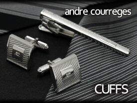 【andre courreges】アンドレ・クレージュ カフス シルバー ACC6502 【セットではありません】