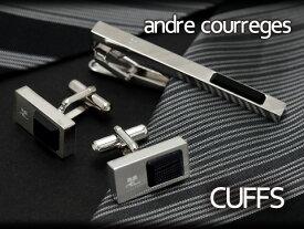 【andre courreges】アンドレ・クレージュ カフス ブラック オニキス CC6013 【セットではありません】