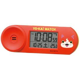 【SEIKO CLOCK】セイコークロック 妖怪ウォッチ 電波時計 置時計 目覚まし時計 デジタル CQ154E