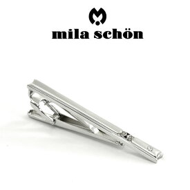 【mila schon】ミラショーン ネクタイピン 専用ボックス付き スワロフスキー MST8345