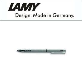 【LAMY】ラミー Logo ロゴステンレス 複合 ボールペン マルチファンクション 黒ボールペン シャープペン0.5mm ステンレス シルバー L606 【メール便可能】【メール便の場合商品ボックス付属なし】