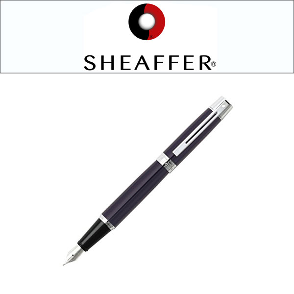 Schaefer Sheaffer300 Schaefer 3 Million, Brush Steel Pen To Pen To F M  Gross Blue SGC9328PN (gift / Gifts / St. Patricku0027s Day / Entrance  Celebration / Men ...