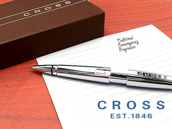 【CROSS】クロス CROSS EDGE クロス エッジ セレクチップローラーボール 水性 ボールペン クローム AT0555-8 【ネコポス可】【ネコポスの場合商品ボックス付属なし】【あす楽】