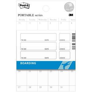 【ポストイットポータブル ノート・Boarding 75×50mm PS656-02】使い方いろいろ・手帳用ケース対応※20個までネコポス便可能[スリーエム][M在庫-2-F3]