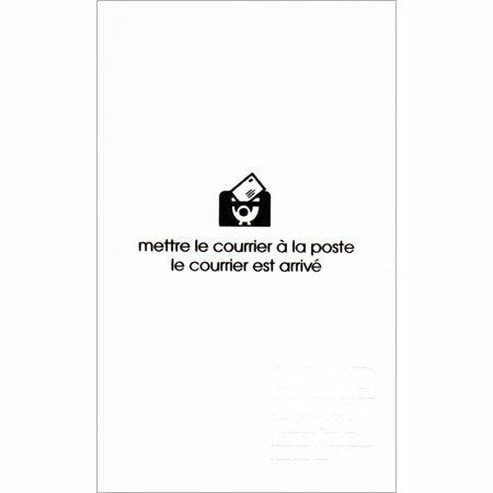 【メッセージカード 名刺サイズ ホワイト 50枚入 PRNBC-P-01】メッセージを送ったり、お店のプライスカードなどに※16冊までネコポス便可能[etranger][M在庫-2-D7]