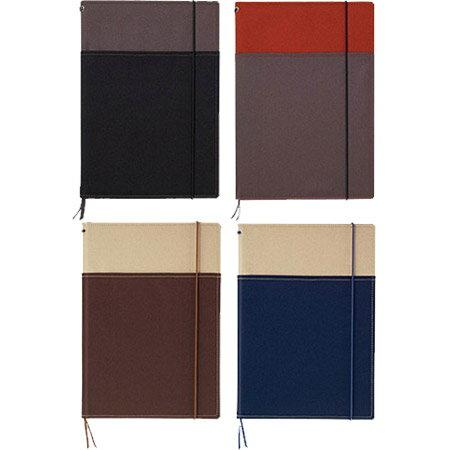 【システミックカバーノート A5サイズ ノ-655A】A5サイズのノートやスケジュール帳が2冊収容できるノートカバー※1冊のみDM便可能[コクヨ] [M在庫-2]