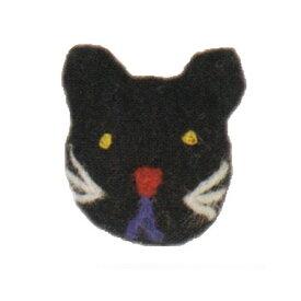【Mococoフェルトマグネット ネコ NP-MG8-F】可愛い猫柄のマグネット※ネコポス便不可[Mark's][M在庫-2-E4]