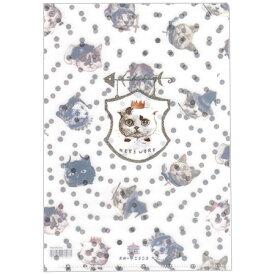 【A5クリアファイル NEKO WORK2 1ポケット ST-CFA5-005】かわいい猫柄のクリアホルダー※10個までネコポス便可能[とことこサーカス][M在庫-2-C8]【RCP】
