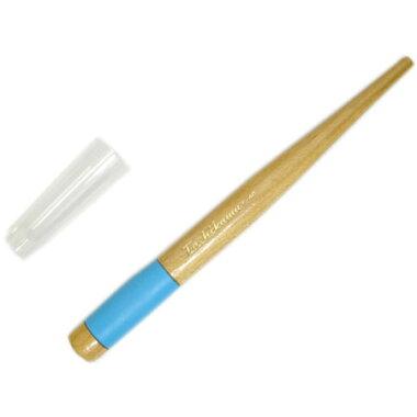 【フリーサイズペン軸キャップ・ラバー付き木製T-40】様々なペン先をセットできるフリーサイズペン軸・漫画コミック用※ネコポス便可能[タチカワ]