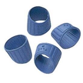【メクリッコ・ブルー リング型指サック Lサイズ KM-303】スタンダードリング型指サック※24個までネコポス便可能[PLUS]【RCP】