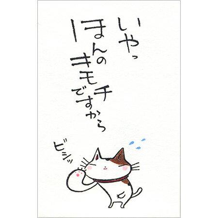 【多目的ぽち袋 ほんのキモチですから 5枚入り 31146003】猫のイラストがかわいいぽち袋※32冊までDM便可能[紙ING][M在庫-2-E9]