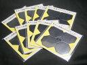 <送料無料♪>風水 八角鏡 ミラーステッカー (4枚組10セット) 日本製 < 風水グッズ 開運グッズ 魔除け アイテム >…
