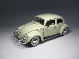 フォルクスワーゲン ビートル (1955)クリーム 1/18 サイズ【 インテリアカー ・世界の名車シリーズ】Volkswagen Type 1 クラシックビートル