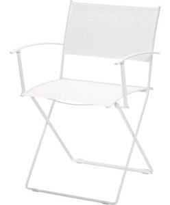 プレインエア・アームチェア カラー:ホワイト ガーデンファニチャー フェルモブ Bistro ビストロ