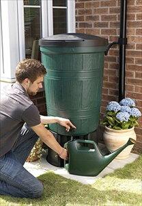 雨水タンク 200リットル セット ビーグリーン BeGreen 英国製 イギリス製 【雨水タンク助成金対応店】 人気の大型200Lセット