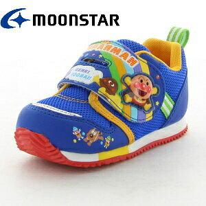 アンパンマン キャラクター キッズ ベビー ブルー APM B16-blue | 子供靴 男の子 女の子 ベビーシューズ カレーパンマン バイキンマン 12cm 12.5cm 13cm 13.5cm 14cm 14.5cm おしゃれ かわいい ムーンスター